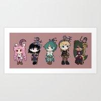 Steampunk Sailor Moon - … Art Print