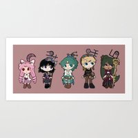 Steampunk Sailor Moon - Outers Art Print