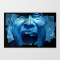 Canvas Print featuring scream by Misha Dontsov