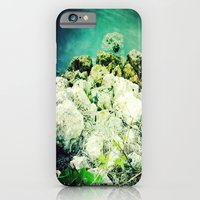 iPhone & iPod Case featuring blue lagoon by manduhpaige