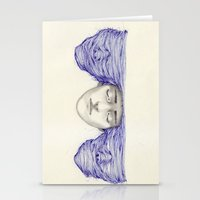 Sunset And Schizophrenia… Stationery Cards