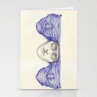 Sunset and schizophrenia  Stationery Cards