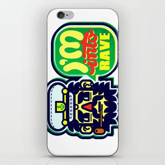 I'm Into Rave iPhone & iPod Skin