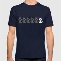 The Pack Mens Fitted Tee Navy SMALL