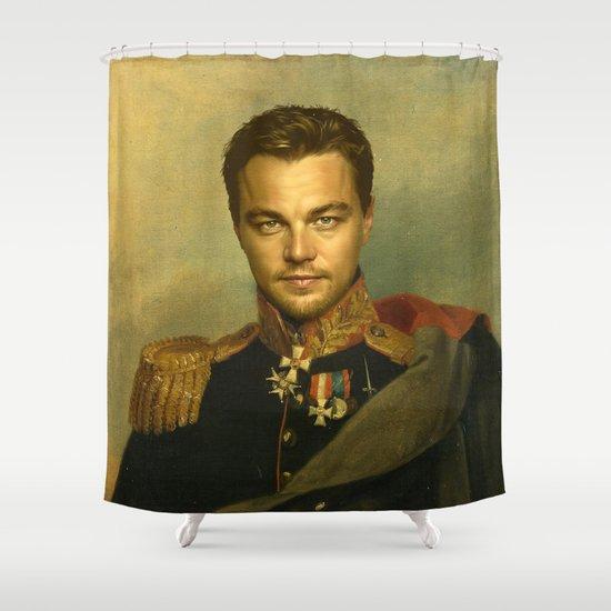 Leonardo Dicaprio - replaceface Shower Curtain