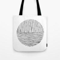 Circle : Vertical / Horizontal Tote Bag