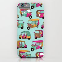 India Rickshaw Illustrat… iPhone 6 Slim Case