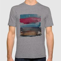 Landscape Color Study 1 Mens Fitted Tee Athletic Grey SMALL