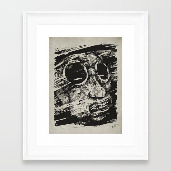 Speed Of Life II. Framed Art Print