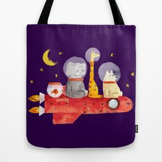 Let's All Go To Mars Tote Bag