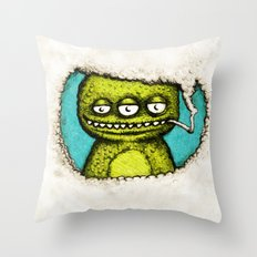 3Eye Throw Pillow
