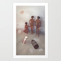 The Night When Hosted Bi… Art Print