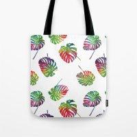 Tropical plant Tote Bag