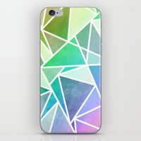 Rainbow Fractal  iPhone & iPod Skin