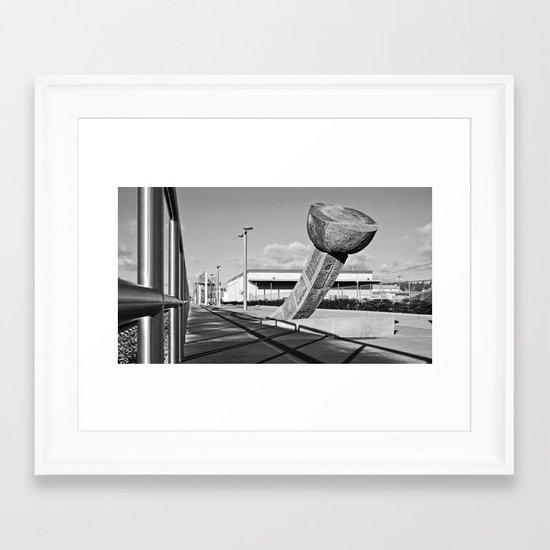 South Tacoma Sounder station Framed Art Print