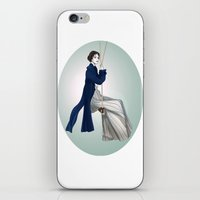 Fashion Illustration - Pride & Prejudice iPhone & iPod Skin