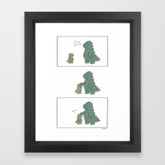 Attention  Framed Art Print