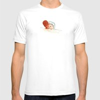 Obviously. Mens Fitted Tee White SMALL
