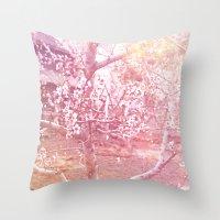 桜, さくら Throw Pillow