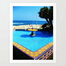 Fountain Art Print