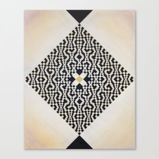 Heart of GO(L)D Canvas Print