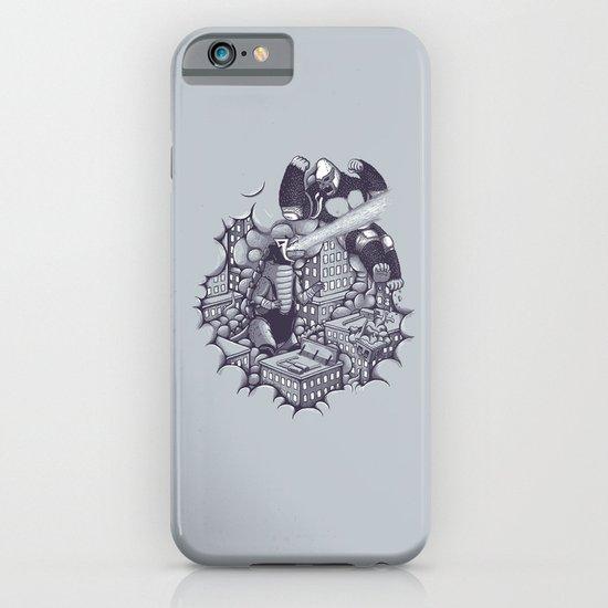 Lucha Kaiju iPhone & iPod Case