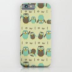 Energetic Owls iPhone 6 Slim Case