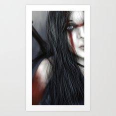 Barbarian Princess Art Print