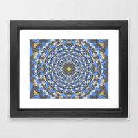 Confetti Cosmos Framed Art Print