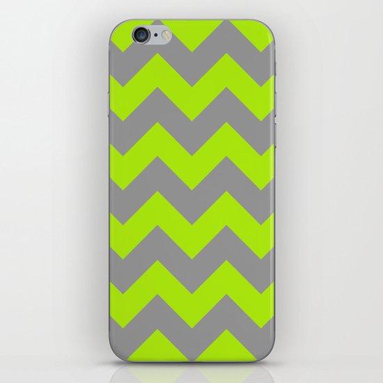 Chevron Lime iPhone & iPod Skin