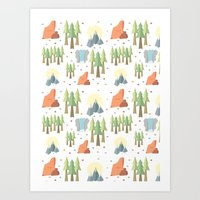 Outdoors Art Print