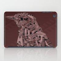 Red Bird Machine City iPad Case