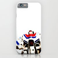 iPhone & iPod Case featuring Let's fight like robots by kreatox