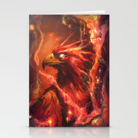 Fawkes Stationery Card