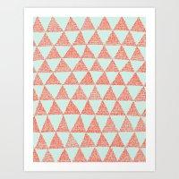 try-angles Art Print