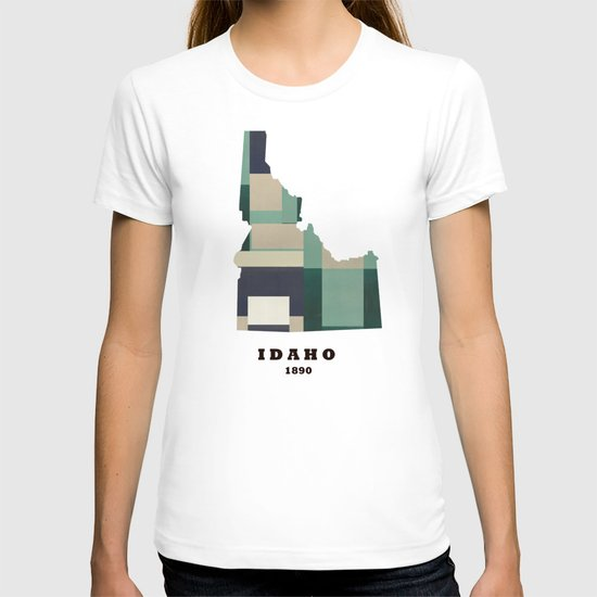 idaho state map modern  T-shirt