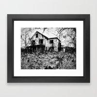 Murder. Framed Art Print