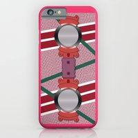 iPhone & iPod Case featuring Minimalist Hoverboard by beware1984