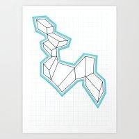 GeoMania. Art Print