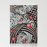 Waves Of Tradition Stationery Cards