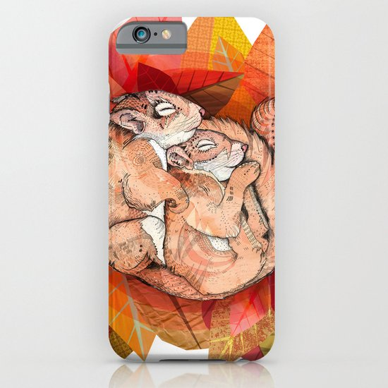 Squirrel Spoon iPhone & iPod Case
