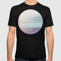 Ocean Pastel Mens Fitted Tee Tri-Black SMALL