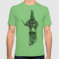 Dali's Dream Mens Fitted Tee Grass SMALL
