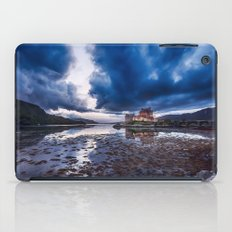 Dark Skies at Eilean Donan Castle iPad Case