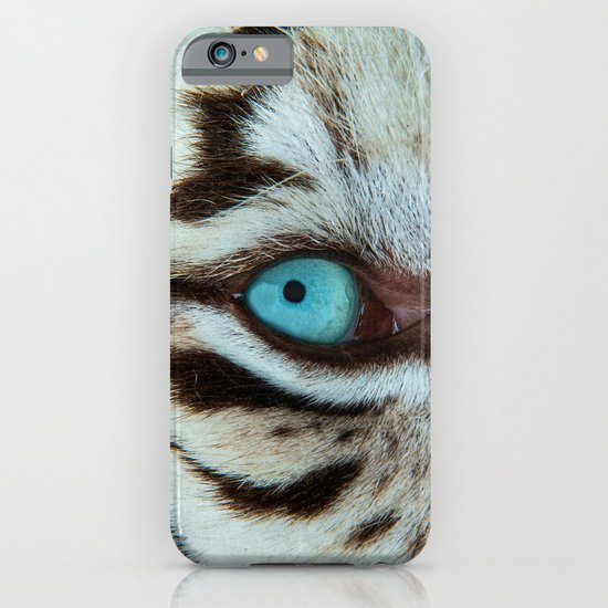 WHITE TIGER BEAUTY iPhone & iPod Case