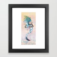 Journeying Spirit (ermine) Framed Art Print