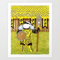 Knockalod Eulalia, Champ… Art Print