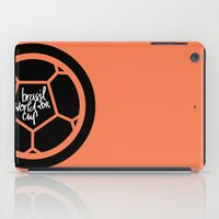 Brazil World Cup 2014 - Poster n°2 iPad Case