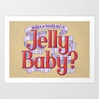 Would You Like A Jelly B… Art Print