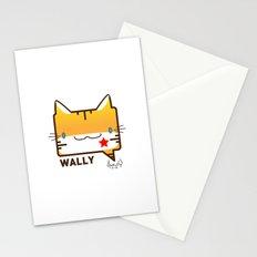 Convo Cats! Wally Stationery Cards